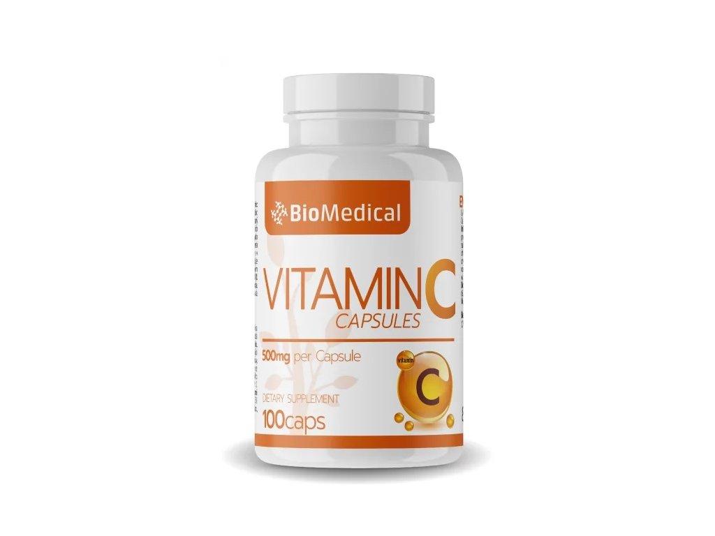 vitamin c 500 kapsle biomedical
