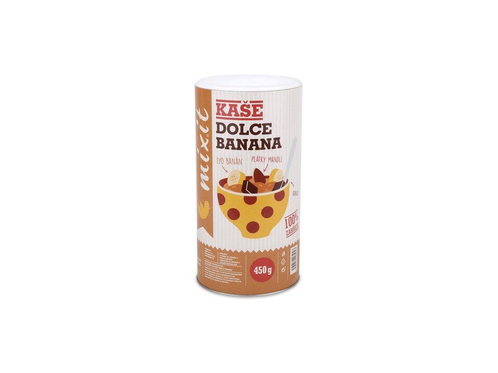 mixit dolce banana proteinova kase