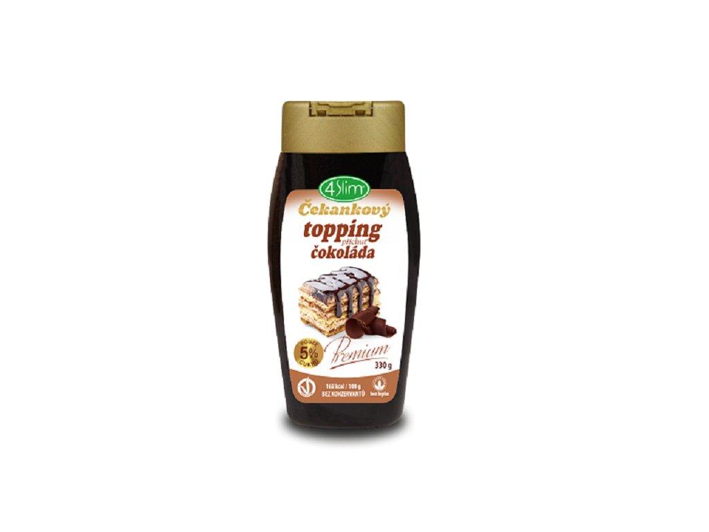 4slim cekankovy topping cokolada