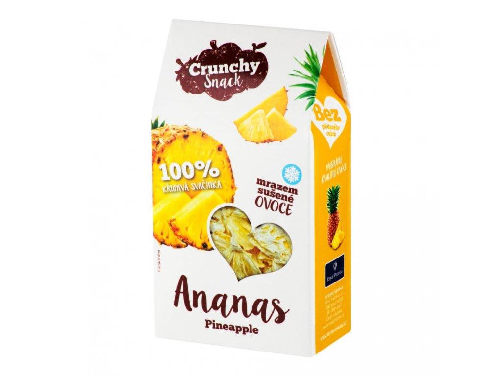 ananas suseny mrazem royal pharma