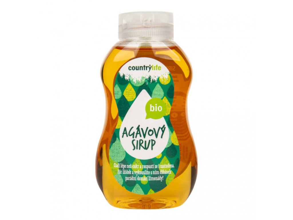 agavovy sirup bio country life
