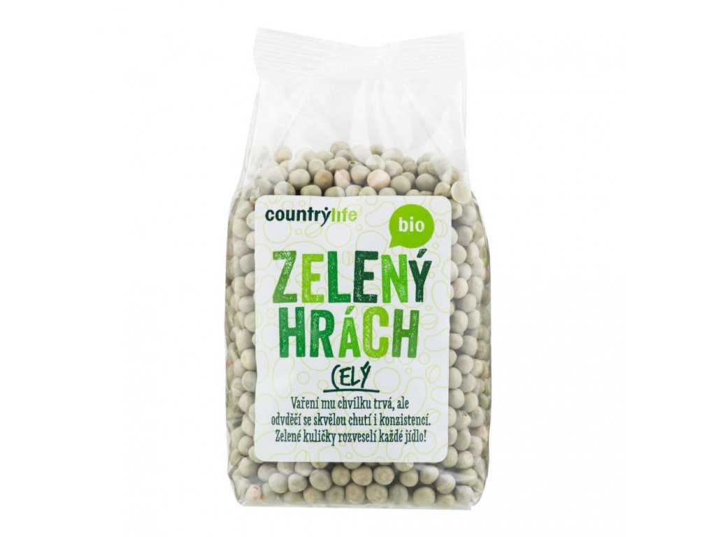 hrach zeleny cely country life
