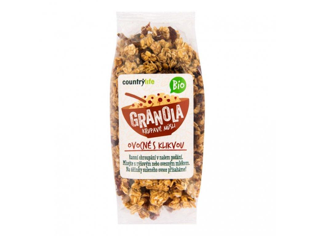 granola krupave musli s klikvou