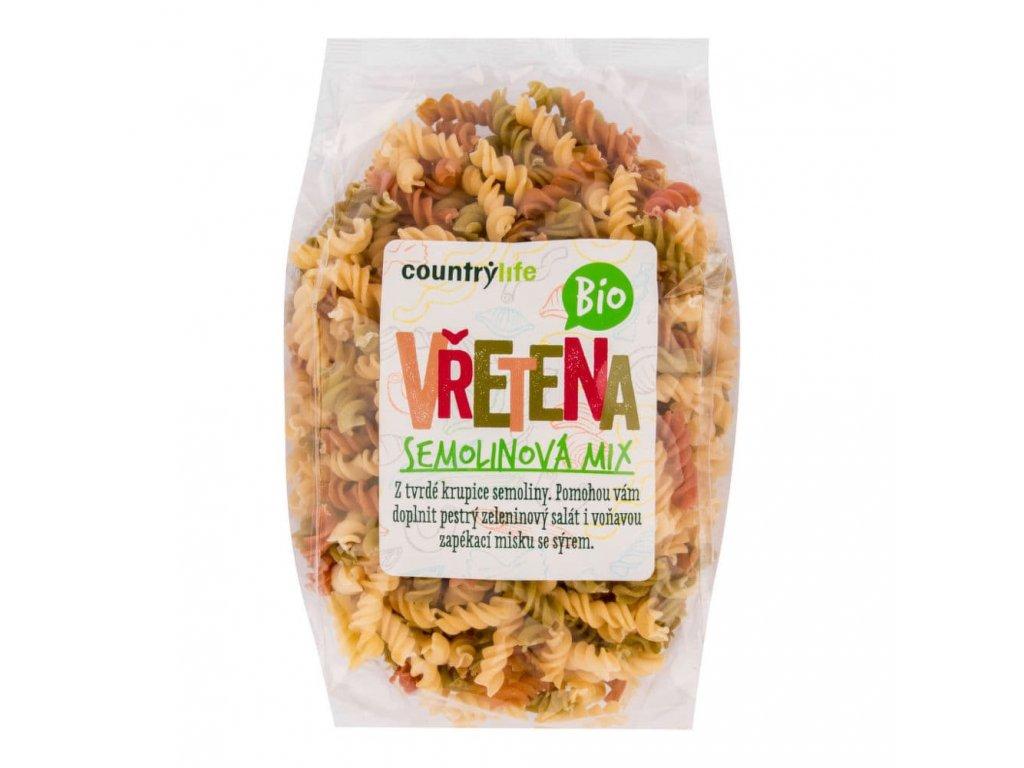 testoviny vretena semolinova country mix