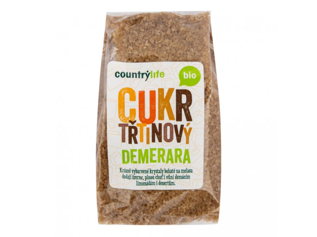 cukr trtinovy demerara bio