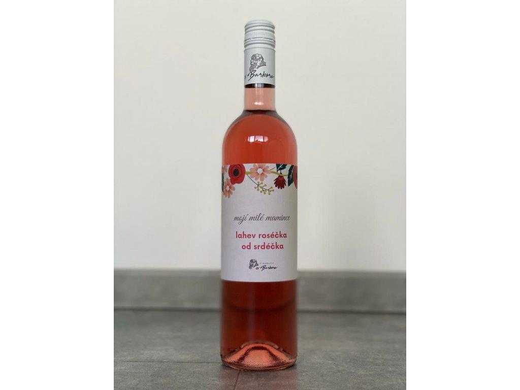 Sv. Barbora Pro maminku Zweigeltrebe rosé Pozdní sběr Suché 0,75 l