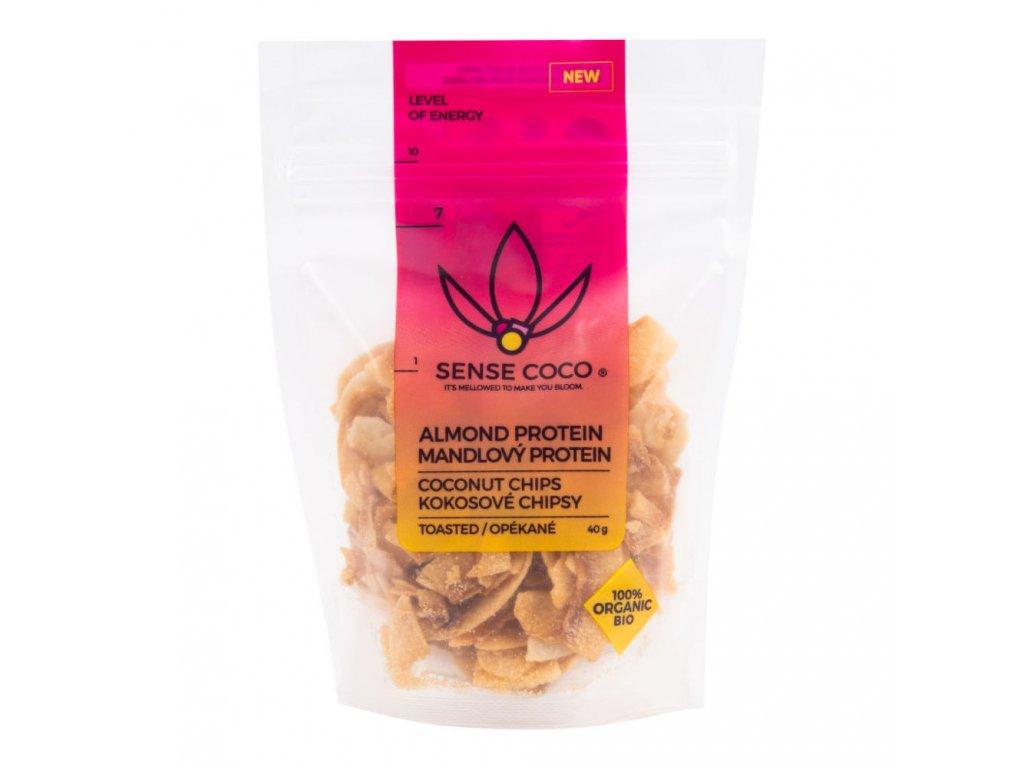 sense coco chipsy mandlove s proteinem