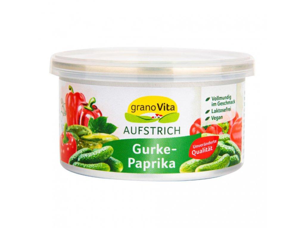 granovita pomazanka okurkovo paprikova