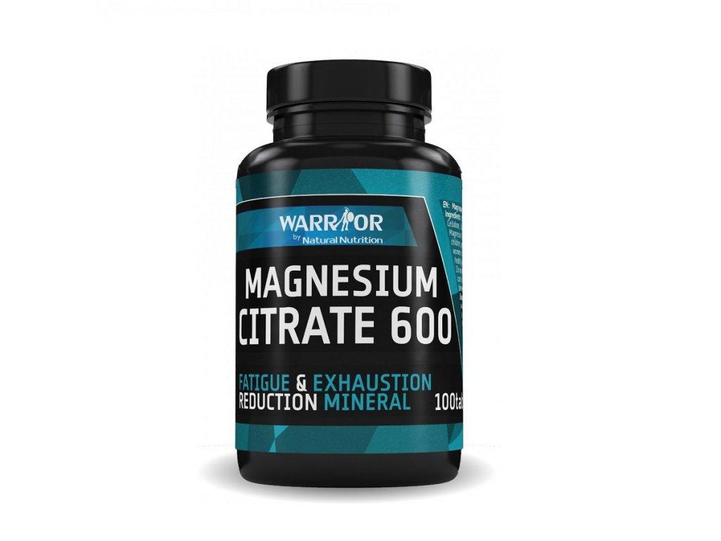 magnezium citrat horcik warrior