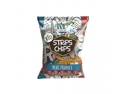 bio strips chips peas france