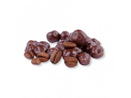 kavove zrno v mlecne cokolade nuttamix