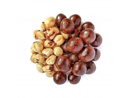 liskove orechy v mlecne cokolade