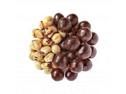 liskove orechy v horke cokolade nuttamix