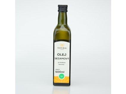 olej sezamovy za studena lisovany natural