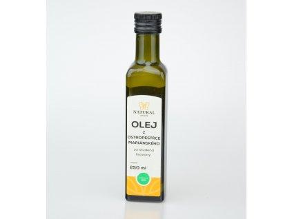 olej z ostropestrce marianskeho za studena lisovany