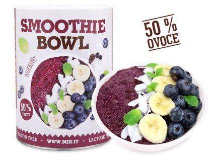 Smoothie bowl Blueberry produktovka CZ