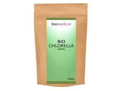 bio chlorella tablety warrior