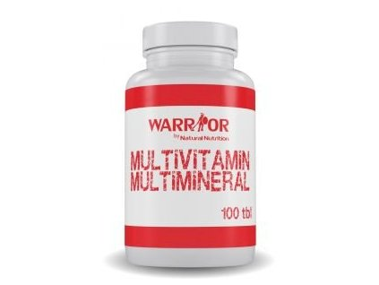 warrior multimineral multivitamin