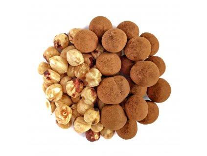 nuttamix liskove orechy v mlecne cokolade a skorici